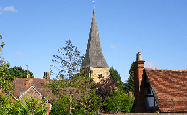 Billingshurst Church steeple